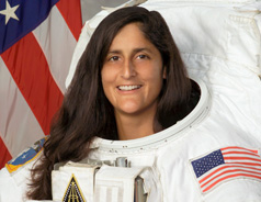 Photograph of Suni Williams