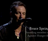 Bruce Springsteen, Founding Member of Artists Against Hunger and Poverty